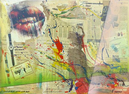 Quadro di Maurizio Perozzi Desiderio n2 - mista tela