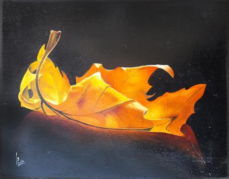 Quadro di Paolo Lenti Resistenza IV - olio tavola