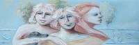 Quadro di Umberto Bianchini - Serie soffitti bassi mista tavola