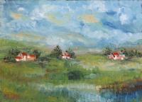 Quadro di Teresio Pastorino - Senza titolo olio tela