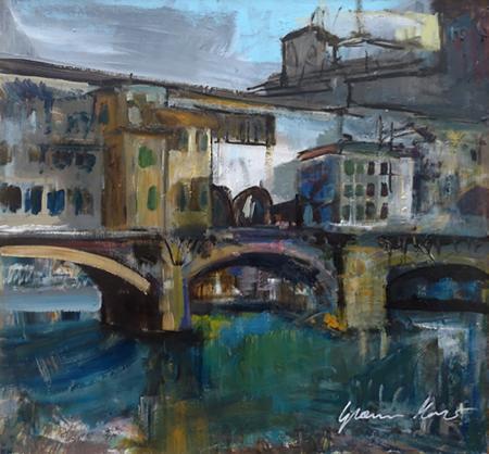 Art work by Gianni Mori Ponte Vecchio - mixed table