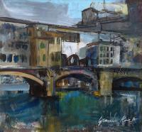 Quadro di Gianni Mori - Ponte Vecchio mista tavola