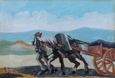Art work by G. Spinelli Cavallo - oil canvas