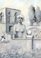 Quadro di Umberto Bianchini  Balcone