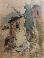 Quadro di Alvaro Danti  Paesaggio