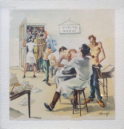 Quadro di  Campi Dottore generico - Pittori contemporanei galleria Firenze Art