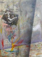 Quadro di Maurizio Perozzi - Malinconia n.7 mista tela