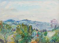 Meyer von Zollikon - Veduta di Prato dello Strozzino, Firenze