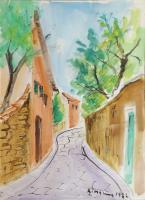 Quadro di Rodolfo Marma - Paesaggio  acquerello carta