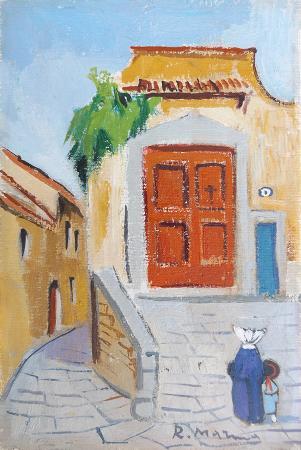 Artwork by Rodolfo Marma, oil on table | Italian Painters FirenzeArt gallery italian painters