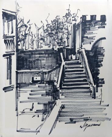 Art work by Ugo  Signorini  Senza titolo - marking pen paper