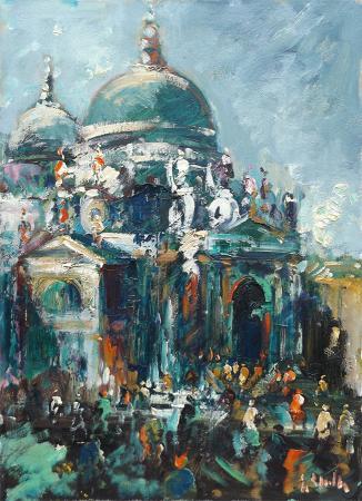 Quadro di Emanuele Cappello Senza titolo - olio tela