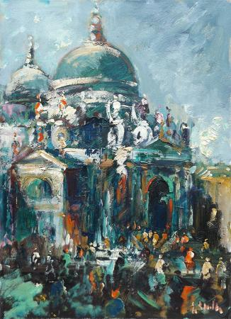 Art work by Emanuele Cappello Senza titolo - oil canvas