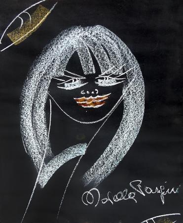 Quadro di Novella Parigini Felice - gesso carta
