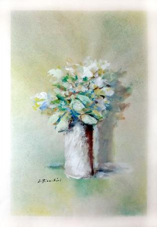Art work by Umberto Bianchini Fiori - varnish paper
