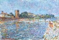 Quadro di Guido Borgianni  Di là d'Arno