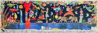 Work of Francesco Musante - Sogno di una notte di mezza estate polymaterial lithography paper