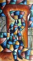 Work of Great  Status - The fourah seller oil canvas