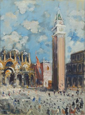 Quadro di Emanuele Cappello Venezia - Pittori contemporanei galleria Firenze Art