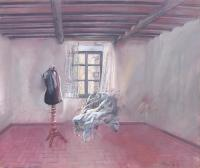 Work of Mario  Madiai - Il manichino oil canvas