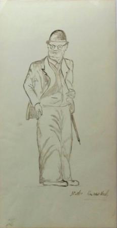 Art work by Mariano Ilardi Studio - marking pen paper