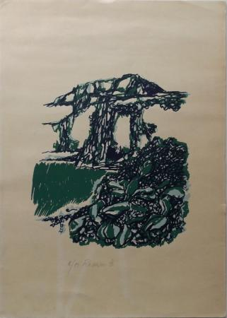 Art work by Natale Filannino Senza titolo - lithography paper