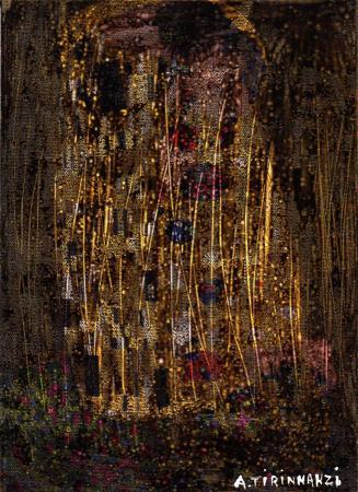 Quadro di Andrea Tirinnanzi Effervescenza - mista vetro