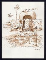 Work of Franco Lastraioli - Giardino delle mele mangianti china paper
