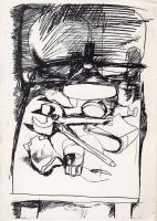 Quadro di Fernando Farulli - In studio stampa carta