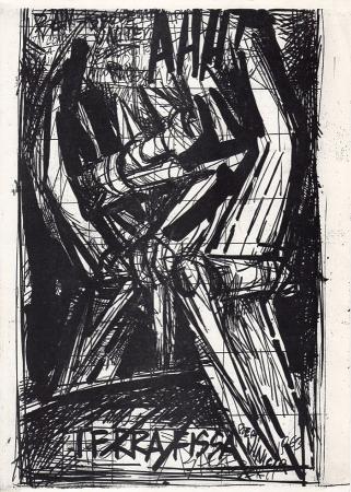 Art work by Vinicio Berti Terra fissa - print paper