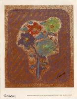 Quadro di Gin Torres - Fiori litografia carta