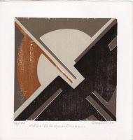 Quadro di Giuseppe Calonaci - Natale 1973 litografia carta