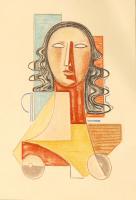 Work of Mario Tozzi - Prova d'Autore  lithography paper