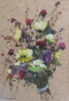 Luciano Pasquini - Composizione di fiori di campo