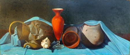 Artwork by firma Illeggibile, oil on hardboard | Italian Painters FirenzeArt gallery italian painters
