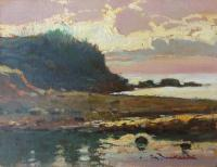 Work of Giorgio Luxardo - Tramonto oil table