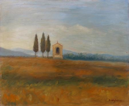 Artwork by Dino Migliorini, oil on table | Italian Painters FirenzeArt gallery italian painters