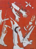 Quadro di Andrea Tirinnanzi - Senza titolo mista tela