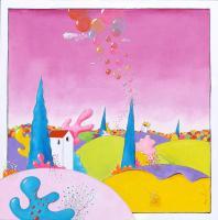 Quadro di Luca Albizi - Nuvole di bolle olio tela