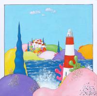 Quadro di Luca Albizi - Faro olio tela
