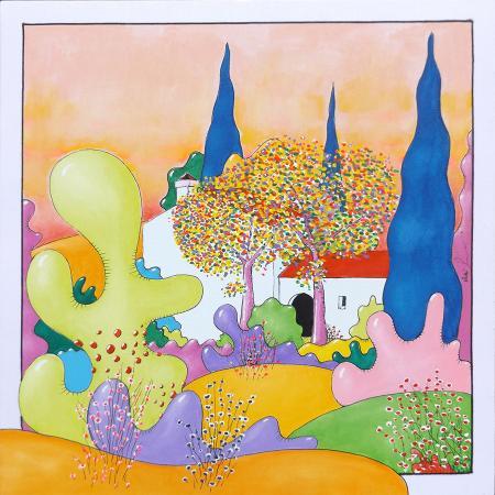 Quadro di Luca Albizi Primavera - olio tela
