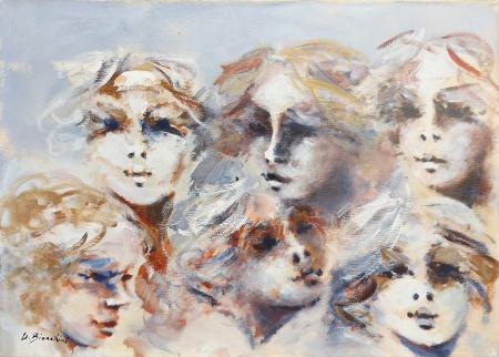 Artwork by Umberto Bianchini, oil on canvas | Italian Painters FirenzeArt gallery italian painters