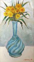 Leonardo Papasogli - Vaso di fiori gialli