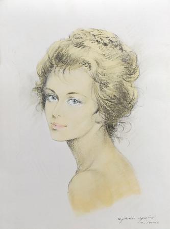 Quadro di Carlo Parisi Ritratto - stampa carta