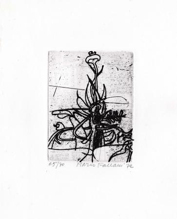 Quadro di Mario Fallani Cardo - incisione carta