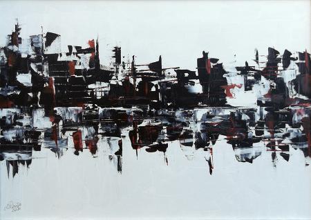 Art work by Loredana Rizzetto Senza titolo - oil canvas