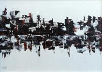 Quadro di Loredana Rizzetto - Senza titolo olio tela