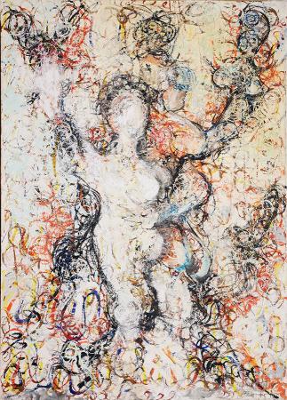 Quadro di Vittorio Calamai Nudo - olio tela