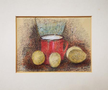 Quadro di Algero Cantini Composizione - mista carta