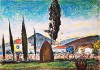 Antonio  Berti  - Case in campagna